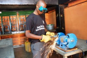 Metal Fabrication at Sharing Youth Centre13